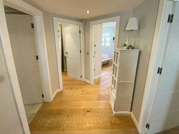 Access to bedrooms upstairs